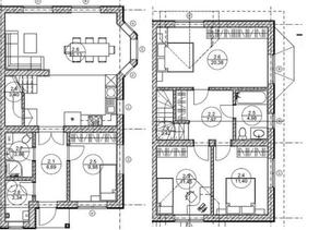 КП «Вартемяги парк», планировка 3-комнатной квартиры, 120.00 м²