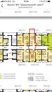 ЖК «Шуваловский», планировка 1-комнатной квартиры, 35.14 м²